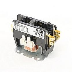 pôle 1 amp 30, contacteur de fin définitive, irréversible, bobine AC 24V, plaque de montage standard de l'industrie