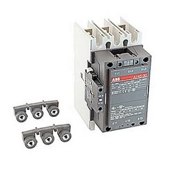 pôle 3, 230 amp, irréversible sur le contacteur de ligne avec bobine AC 440-460V et 1 n'et 1 contacts auxiliaires NC