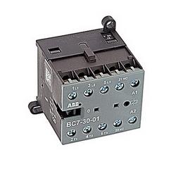 3 pole, plus 1 contact auxiliaire NF, 16 amp, non-inversant contacteur miniature, bobine DC 12V et bornes à vis