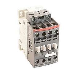 4 pole, 25 amp, non-reversing across the line contactor with 12-20V DC coil and no auxiliary contacts