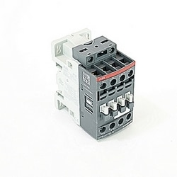 4 pole, 30 amp, non-reversing across the line contactor with 48-130V AC/DC coil and no auxiliary contacts