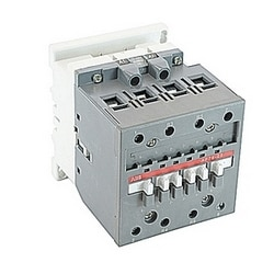 4 pole, 105 amp, across the line contactor with 100-250V AC/DC coil and no auxiliary contacts