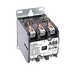 3 pôle amp 40, contacteur de fin définitive, irréversible, bobine AC 208/240V, plaque de montage standard de l'industrie, en vrac