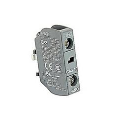 pôle 1, 1, aucun bloc de contacts auxiliaires avec borniers à vis pour AS09 par AS16 et ASL09 par le biais de contacteurs ASL16 et NS et NSL commander relais