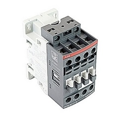 3 pole, 25 amp, non-reversing across the line contactor with 48-130V AC/DC coil and 1 NC auxiliary contacts
