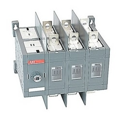 3 pole, 200 amps rated at 600 V AC, UL 98, double throw open non-fusible disconnect switch