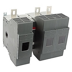3 pole, 400 amps rated at 600 V AC, UL 98, open fusible disconnect switch for use with J fuse type