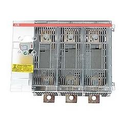 pôle 3, 400 ampères nominale 600 V AC, UL 98, rotatif thru-porte exploité ouvert fusible sectionneur pour utilisation avec le type J de fusibles