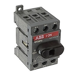 3 pole, 30 amps rated at 600 V AC, UL 98, open non-fusible disconnect switch, bulked pack of 50 switches