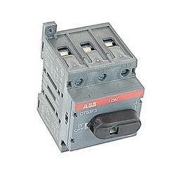 pôle 3, 60 ampères, évalués à 600 V AC, UL 508, ouvrir non thermocollant sectionneur