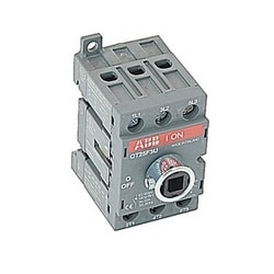 3 pole, 25 amps rated at 600 V AC, UL 508, open non-fusible disconnect switch, bulk package of 50