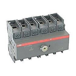pôle 6, 100 ampères, évalués à 600 V AC, UL 98, ouvrir non thermocollant sectionneur