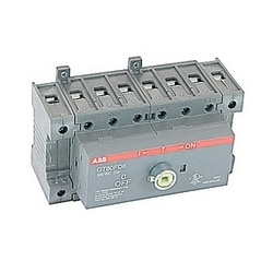 8 pole, 55 amps rated at 600 V AC, UL 98B open non-fusible disconnect switch