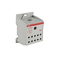 Répartiteur gris, unique pôle avec 175 amp courant nominal avec raccordement vis à ressort qui accepte la gamme de fils AWG UL 6-00