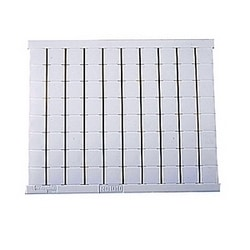 RC1010 Terminal Block Marker: Blank cards