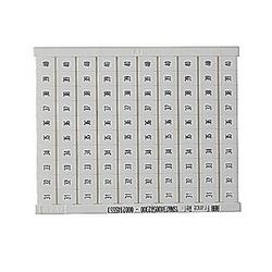 RC810 Terminal Block Marker: 31 to 40 (10 Strips), Horizontal