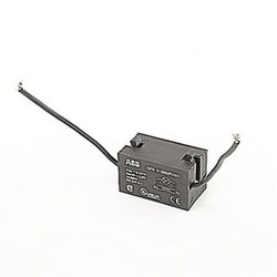 Transformer block for illuminated operators with 110 to 127V AC primary voltage and 6V AC secondary voltage