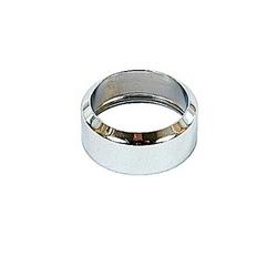 Cadran métal chrome pour boutons poussoirs.