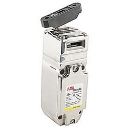 Languette de verrouillage Interrupteur de sécurité en acier inoxydable avec connecteur NPT, 2 NC et 1 pas de contacts et touche souple en plastique