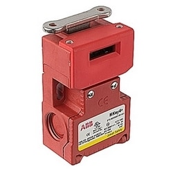 MKey 4 standard tongue interlock safety switch with NPT connector, 2NC and 1N0 contacts and Key 40N