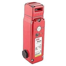 Solenoid locking interlock safety switch featuring Power to lock guard holding up to 2000N