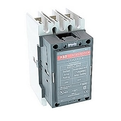 3 pole 200 amp NEMamp rated lighting contactor with 240 AC operated coil