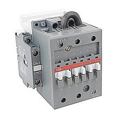 3 pôles, 75 amp, généraliste évalué, circuit GA75 DC changement contacteur avec une bobine de V AC évalué à 24 et 1 non et 1 contacts auxiliaires NC