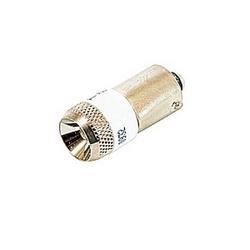 AC/DC ampoule blanche 60V.
