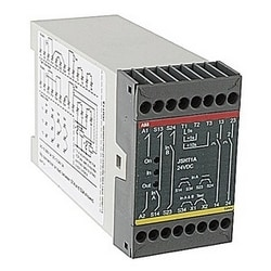 JSHT1A series safety timer relay with 24V DC supply, 45mm wide