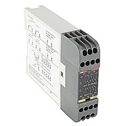 E1T series expansion relay with 4 safety outputs (off-delayed by 3s.) for expansion of safety relay, 24V DC, 22.5mm wide