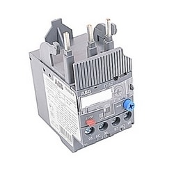 3 pole thermal overload relay with 0.17-0.23 amp setting range
