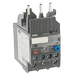 3 pole thermal overload relay with 0.23-0.31 amp setting range