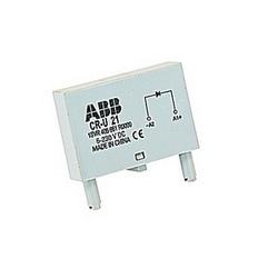 Plugin control relay with 6-230 V DC rated control supply voltage with reverse polarity protection / free wheeling diode