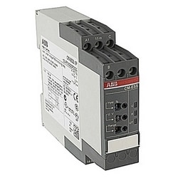 Voltage monitoring relay, single phase with 24-240V AC/DC control voltage, selectable sensitivity from 3-600V, and no trip delay
