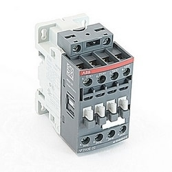4 pole, NFZ control relay with control voltage range of 48-130V AC/DC and 4 NO standard auxiliary contacts