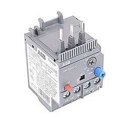 3 pole thermal overload relay with 1.7-2.3 amp setting range