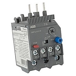 3 pole thermal overload relay with 0.74-1.00 amp setting range