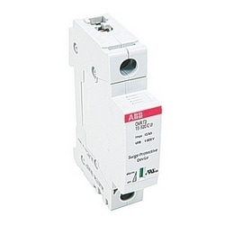 Single pole OVR DIN rail surge protection device with a surge capacity of 15 kA and maximum voltage of 320V