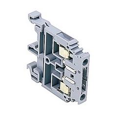 Borniers gris résistant commutateur avec fiche, 10 ampères UL évalué avec une vis de bride connexion qui accepte le 22-10 gamme fil AWG