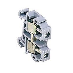Gris prises monoblocs 20 ampères UL évalué avec un raccordement vis à ressort qui accepte le 28-12 gamme fil AWG
