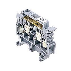 Diode LED fusible titulaire pour blocs de jonction pour mm 5 x 20 et 5 x 25 mm fusibles, 10 ampères UL évalué avec une vis de bride connexion qui accepte le 22-12 gamme fil AWG