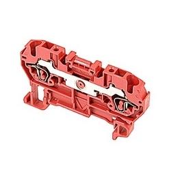 Rouge, par bloc d'alimentation avec espacement de 5 mm, Amp 15 Note : UL actuel avec raccordement ressort qui accepte le 26-12 gamme de fil AWG UL