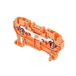 Orange, par bloc d'alimentation avec espacement de 5 mm, Amp 15 Note : UL actuel avec raccordement ressort qui accepte le 26-12 gamme de fil AWG UL