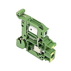 D6/8.P.ADO3 IDC Terminal Blocks - Ground - Green-Yellow,4mm RatedCrossSection, 8mm Spacing TH 35-7.5, TH 35-15 Rail