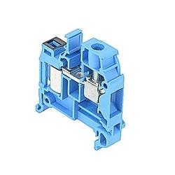 Bleu, alimentation par bloc avec espacement de 8 mm, Amp 25 Note : UL actuelles à la fois à déplacement d'isolant et scew connexions camp qui acceptent le 16-14 fil AWG, gamme pour IDC et 22 - gamme de fils AWG 8 pour raccordement à vis