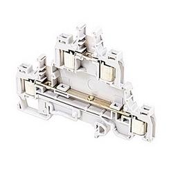 D1.5/6.D2.ADO IDC Terminal Blocks - Feed-through - Grey,1.5mm RatedCrossSection, 6mm Spacing TH 35-7.5, TH 35-15 Rail