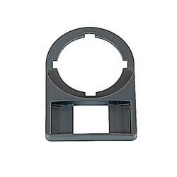 Support de plaque grise de légende pour les boîtiers en plastique avec 22mm Dimensions de montage