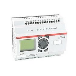 Logique de relais 24 V CC tension opérationnelle, y compris l'affichage et de clavier, d'une minuterie et comprend 12 entrées et 6 sorties relais
