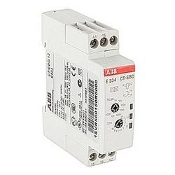 Minuterie avec 24-240V ca 24-48 V CC contrôle d'alimentation Tension nominale, calendrier gamme de 7 (0,05 s - 100 h), aucun contrôle d'entrée et 1 SPDT (c/o) sortie contact