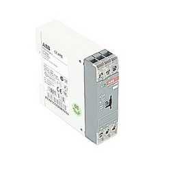 Timer with 110-130 V AC rated control supply voltage, timing range of 0.1-10 s, no control input, and 1 SPDT (c/o) output contact